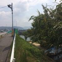 Photo taken at 仁保橋 by MOOSE . on 8/15/2016
