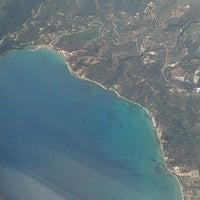 Photo taken at Zakynthos International Airport Dionysios Solomos (ZTH) by Irinka S. on 5/21/2013