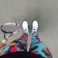 Photo taken at Теннисный корт TETRA by Maryna A. on 5/27/2016