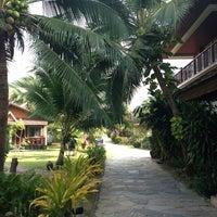 Photo taken at First Villa Resort  Pha-ngan by Antonina💐💐💐 G. on 1/29/2013