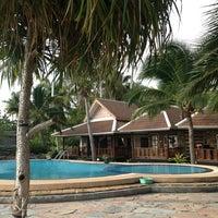 Photo taken at First Villa Resort  Pha-ngan by Antonina💐💐💐 G. on 1/28/2013