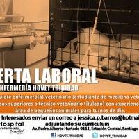 Photo taken at Hospital Veterinario Trinidad by Jéssica B. on 8/17/2013