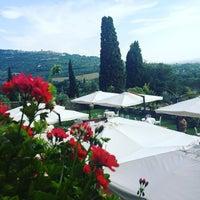 Photo taken at Relais Il Falconiere Hotel Cortona by Ali A. on 9/9/2016