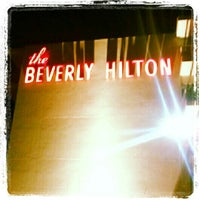 Photo taken at The Beverly Hilton by Edward H. on 12/14/2012