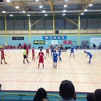 Photo taken at Lielvardes Sporta Halle by Toms R. on 3/16/2013