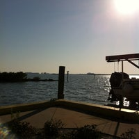 Photo taken at Edgewater Park and Marina by Bonnie B. on 3/15/2013