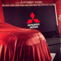 Photo taken at Motorysa Mitsubishi Colombia by Hector D. on 10/8/2015