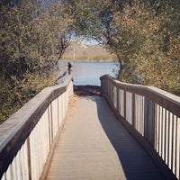Photo taken at OSO FLACO LAKE by J.Lynn J. on 1/10/2014
