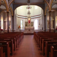 Photo taken at The Minor Basilica of the Immaculate Conception by Jude G. on 9/8/2013