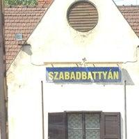 Photo taken at Szabadbattyán Vasútállomás by Niki V. on 7/29/2013
