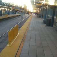 Photo taken at Expo Park/USC Metro Station by Marco R. on 4/11/2013