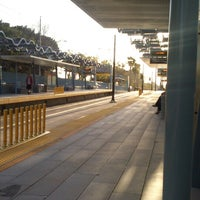 Photo taken at Expo Park/USC Metro Station by Marco R. on 4/9/2013