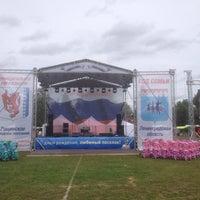Photo taken at Рощинский стадион by Большой Брат on 8/13/2016