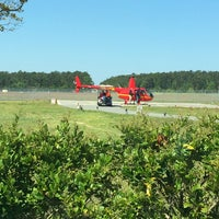 Photo taken at Huffman Helicopters by Lisa Ann Peters on 4/16/2014