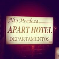 Photo taken at Alto Mendoza Apart HOTEL by Leonard P. on 7/27/2013