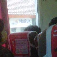 Photo taken at Stasiun Prupuk by RadenAditya P. on 8/6/2013