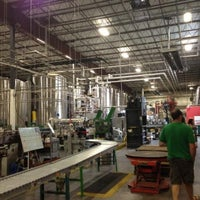 Photo taken at Highland Brewing Company by Christy B. on 7/13/2013