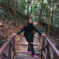 Photo taken at Bukit Nanas Forest Reserve by Aini H. on 2/18/2018