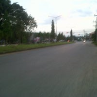 Photo taken at Khao Chaison Intersection by yanee b. on 1/27/2013