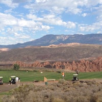 Photo taken at Sky Mountain Golf Course by Rich V. on 8/10/2013