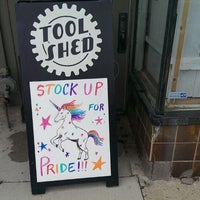 Photo taken at The Tool Shed: An Erotic Boutique by Theresa K. on 5/31/2013