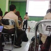 Photo taken at SMA Negeri 9 Malang by Jasminum G. on 10/18/2013