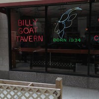 Photo taken at Billy Goat Tavern & Grill by Big M. on 5/17/2013