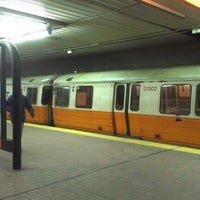 Photo taken at MBTA Downtown Crossing Station by Huu D. on 2/2/2013
