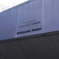 Photo taken at Smithsonian Metro Station by Huu D. on 3/14/2013