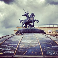 Photo taken at Manezhnaya Square by Anna L. on 6/14/2013