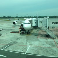 Photo taken at Gate D46 by vdude f. on 9/27/2013