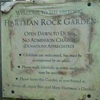 Photo taken at Hartman's Rock Garden by Paul P. on 7/7/2013