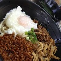 Photo taken at Restoran Super Kitchen Chilli Pan Mee (辣椒板面) by Rain M. on 1/13/2013