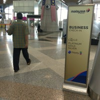 Photo taken at MAS Business Class Check-In by Ben G. on 8/21/2016