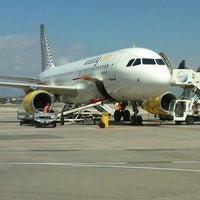 "Photo taken at Naples International Airport ""Ugo Niutta"" (NAP) by Michele S. on 4/10/2013"