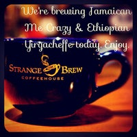 Photo taken at Strange Brew Coffeehouse by StrangeBrewCoffeehouse C. on 12/6/2012