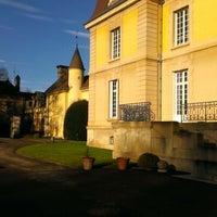Photo taken at Parc départemental de Lacroix-Laval by regisy b. on 12/29/2012