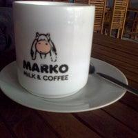 Photo taken at Marko Milk and Coffee by Riski M. on 1/15/2013