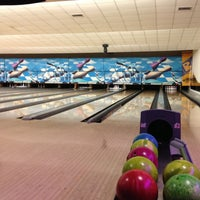 Photo taken at Cosmic Bowling by Huseyin G. on 2/26/2013