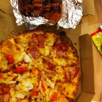 Photo taken at Domino's Pizza Khánh Hội by Hy D. on 12/28/2013