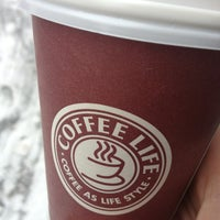 Photo taken at Coffee Life by Vi G. on 1/23/2013
