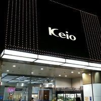 Photo taken at Keio Department Store by Mickey E. on 3/18/2013