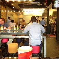 Photo taken at Burger 7 by Jeebah L. on 8/29/2013