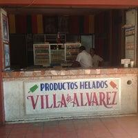 Photo taken at Paletas de la Villa by James S. on 2/4/2013