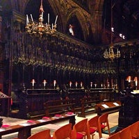 Photo taken at Manchester Cathedral by Maria B. on 1/20/2014