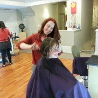 Photo taken at Thumpers Salon by Devin S. on 10/19/2012