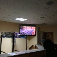 Снимок сделан в Бассейн «Серебряный» пользователем Jenya A. 2/28/2013