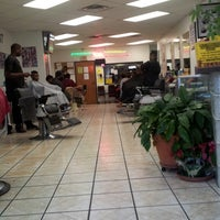 Photo taken at Mid Cities Barber College by Marquis D. on 3/30/2013