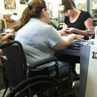 Photo taken at Glamour Nail Hair Spa by Gaby G. on 7/6/2013