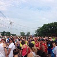 Photo taken at Boilermaker 15K Starting Line by Erin G. on 7/13/2014